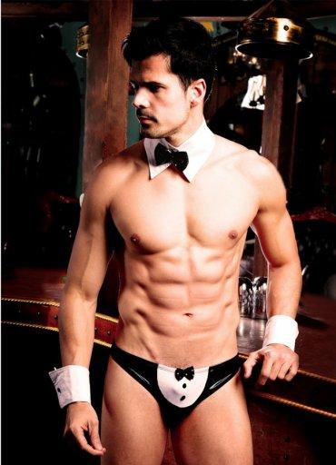 Erkek Hizmetçi Kostümü Takım - 0545 356 96 07
