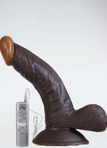 Zenci Ten Rengi Realistik Penis