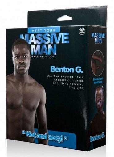 Massive Man Erkek Şişme Bebek Benton G - 420 TL