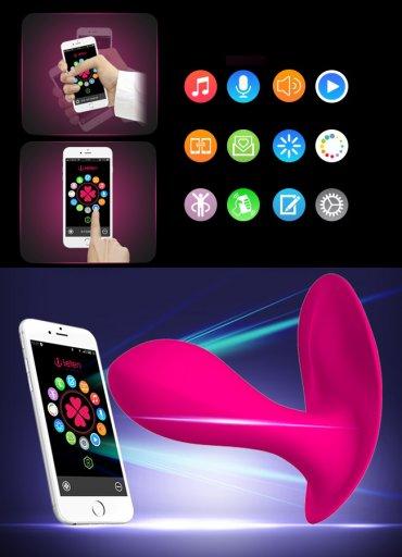 Telefon Uyumlu G-Spot Klitoral Bakire Vibratör - 1100 TL