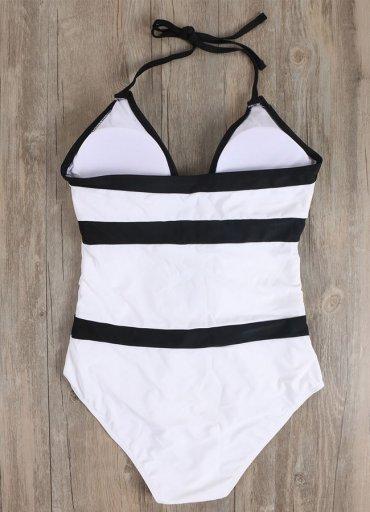 Siyah Beyaz Şık Sexy Mayo - 0545 356 96 07