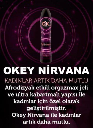 OKEY Nirvana Afrodizyak Etkili Set - 0545 356 96 07