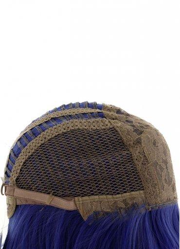 Uzun Renkli Saks Mavisi Peruk - 0545 356 96 07