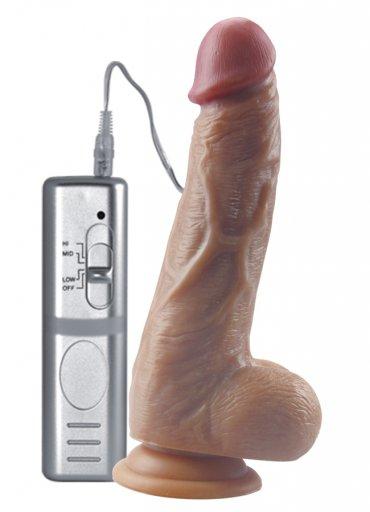 Gerçek Penis Kalıp 21 Cm Vibratör - 0545 356 96 07
