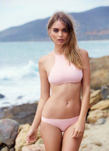 Şık Pembe Tankini Bikini