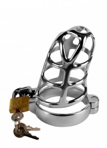 Çelik Penis Kafesi Erkek Bekaret Kilidi - 500 TL