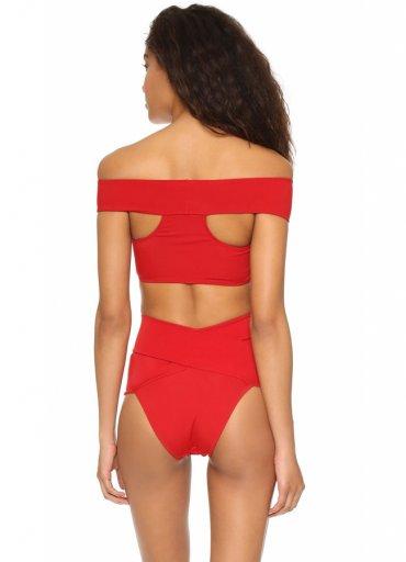 Özel Tasarım Kırmızı Bikini Üst - 0545 356 96 07