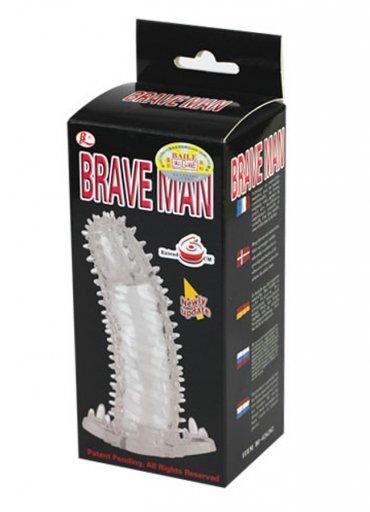 Brave Man Titreşimsiz Penis Kılıfı - 0545 356 96 07