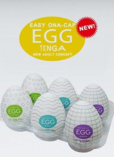 Tenga Yumurta 6lı Paket Set - 200 TL