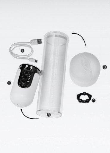 Sarjlı Otomatik Maximizer Vx 5 Penis Pompası - 0545 356 96 07