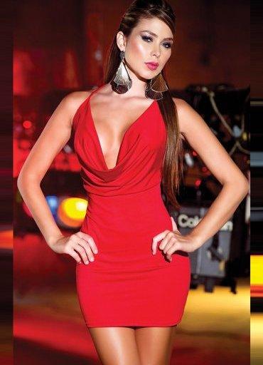 Sırtı Metal Aksesuarlı Kırmızı Mini Ebise - 0545 356 96 07