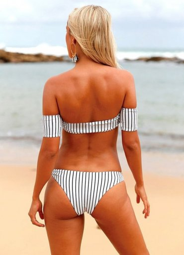 Angelsin Şık Straplez Bikini Alt - 0545 356 96 07