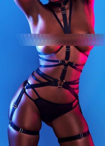 Bdsm Kışkırtıcı Harness Seksi Fantazi Giyim - 0545 356 96 07