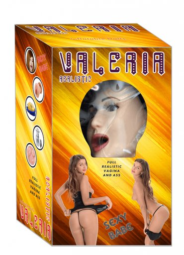 Valeria Realistik Şişme Bebek Manken