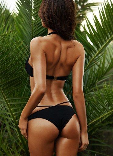 Siyah Süper Tasarım Bikini - 0545 356 96 07
