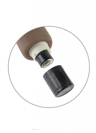 Extra Gerçekçi Yumuşak Doku Zenci Vibratör