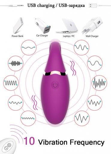 G Noktası Uyarıcı Mode Uzaktan Kontrol Vibratör