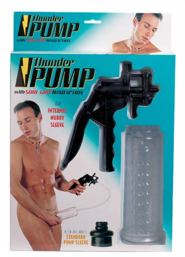 Thunder Tetikli Penis Pompası