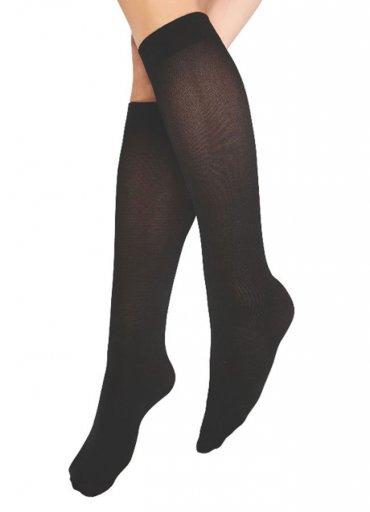 Teni Göstermeyen Mikro Dizaltı Çorap Siyah - 30 TL