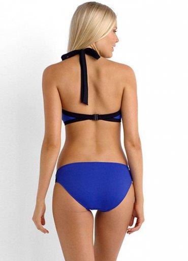 Angelsin Mavi Şık Bikini Alt - 70 TL