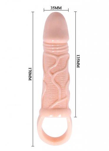 Yumuşak Dokulu Penis Kılıfı