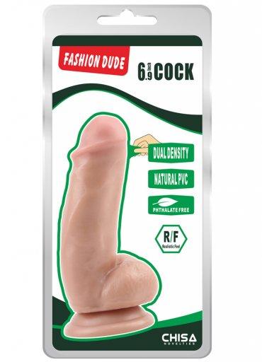 Fashion Dude 17.5 cm Çift Katmanlı Dildo