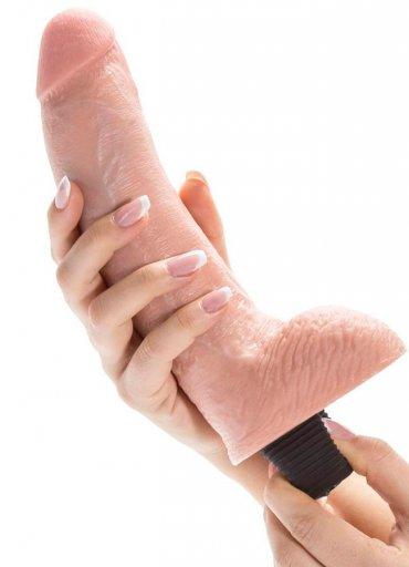 Boşalma Özellikli Damarlı ve Testisli Penis 28 Cm - 0545 356 96 07