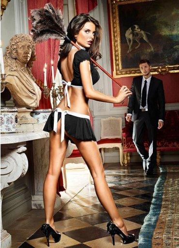 Sexy Hizmetçi Kostüm Takımı - 0545 356 96 07