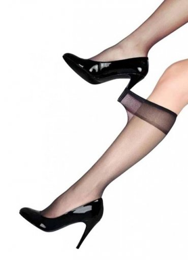 Süper İnce 15 Denye Pantolon Çorabı Siyah - 20 TL