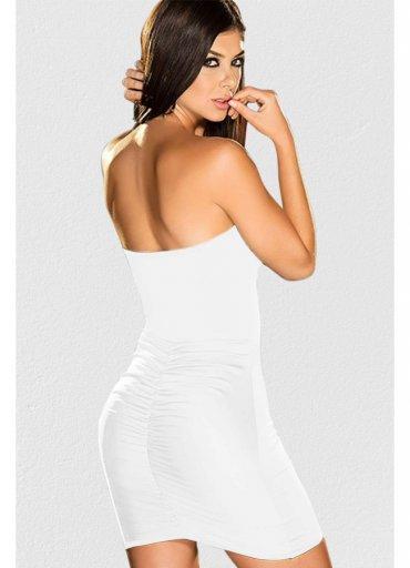 Beyaz Seksi Fantazi Elbise - 0545 356 96 07