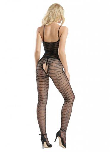 Dinamik Desenli Vücut Çorabı - 0545 356 96 07