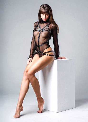 Erotik Deri Fantazi Giyim