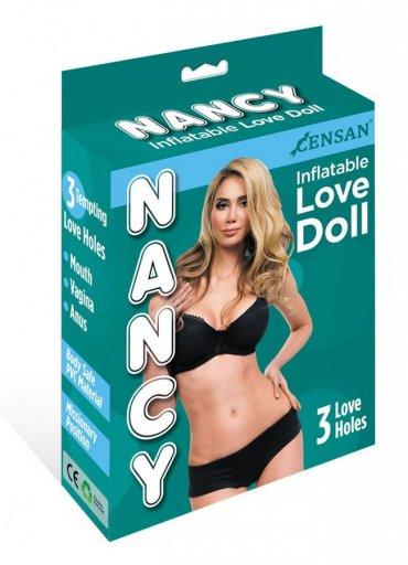 Nancy Love Doll 3 İşlevli Şişme Bebek