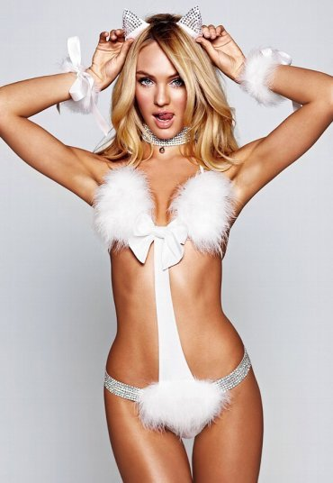 Merry See Seksi Kedi Kız Kostümü