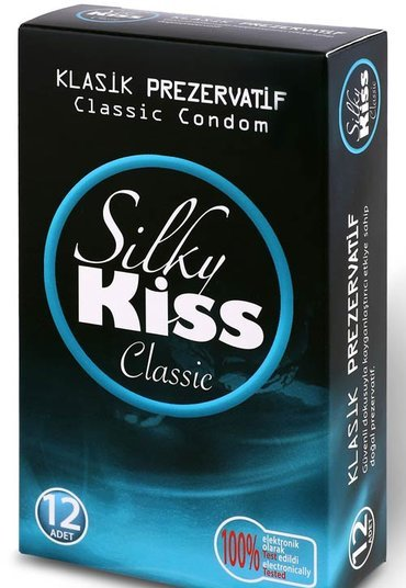 Silky Kiss Klasik 12li Paket Prezervatif