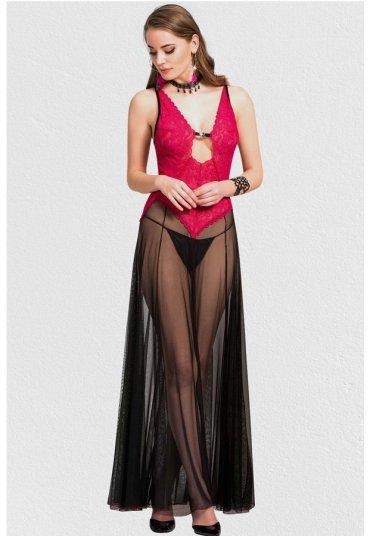 Fransız Dantel Gecelik Fantazi Giyim