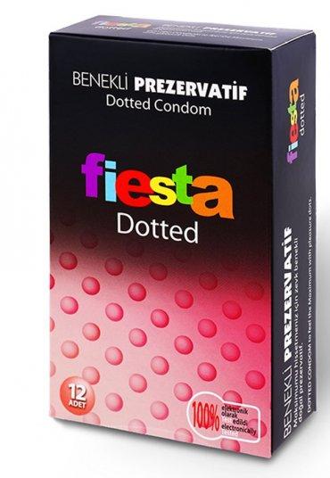 Fiesta Dotted Benekli Prezervatif