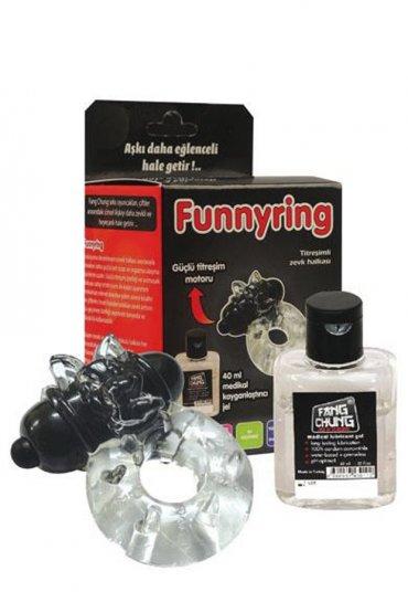 Funny Ring Titreşimli Zevk Halkası