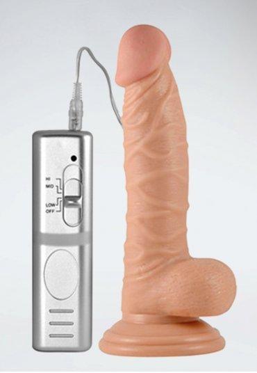 Extreme Lifelike 7.5 inç Titreşimli Penis