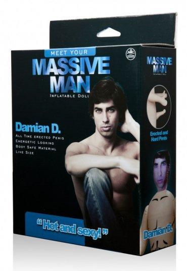 Massive Man Erkek Şişme Bebek Damian D