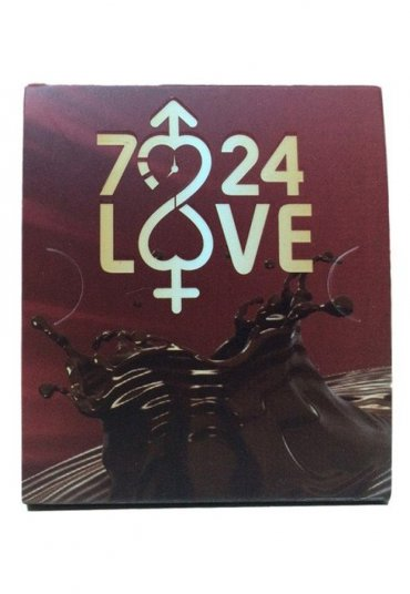 7-24 love 5 li Sıvı Çikolata