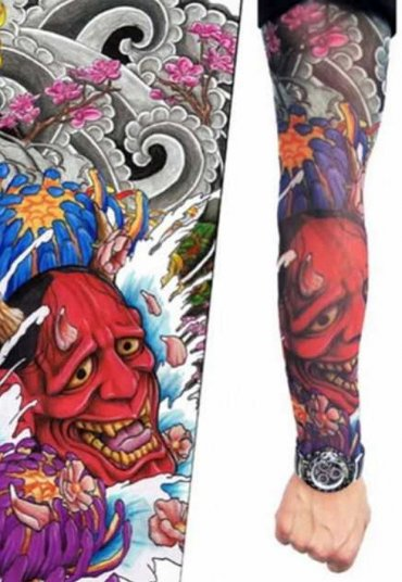 Tattoo Şeytan Figürlü Giyilebilir Dövme