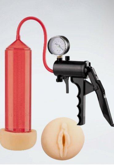 Lust Pumper Slikon Penis Geliştirici Piston 8