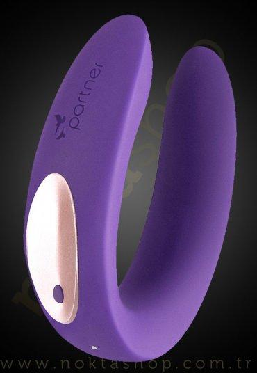 Çiftler İçin Şarjlı Modern Vibratör