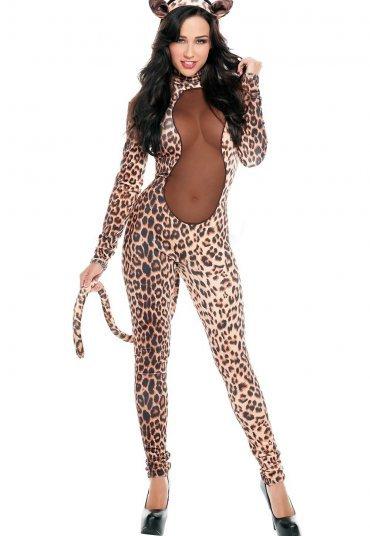 Merry See Leopar Kız Kostümü