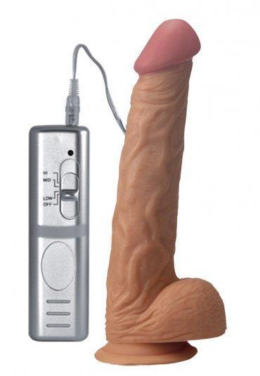 Et Dokusunda 24 Cm Realistik Vibratör