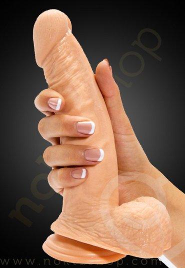 Gerçek Extreme Eğimli 8.5 inç 3 Kademeli Penis