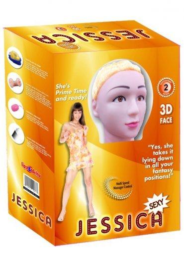 Jessica Realistik 2 İşlevli Şişme Bebek