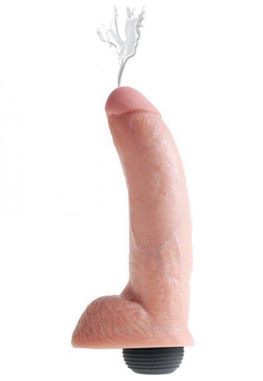 Boşalma Özellikli Damarlı ve Testisli Penis 23 Cm