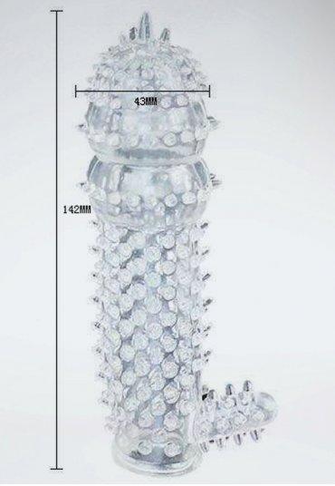 Penis Sleeve Tırtıklı Penis Kılıfı